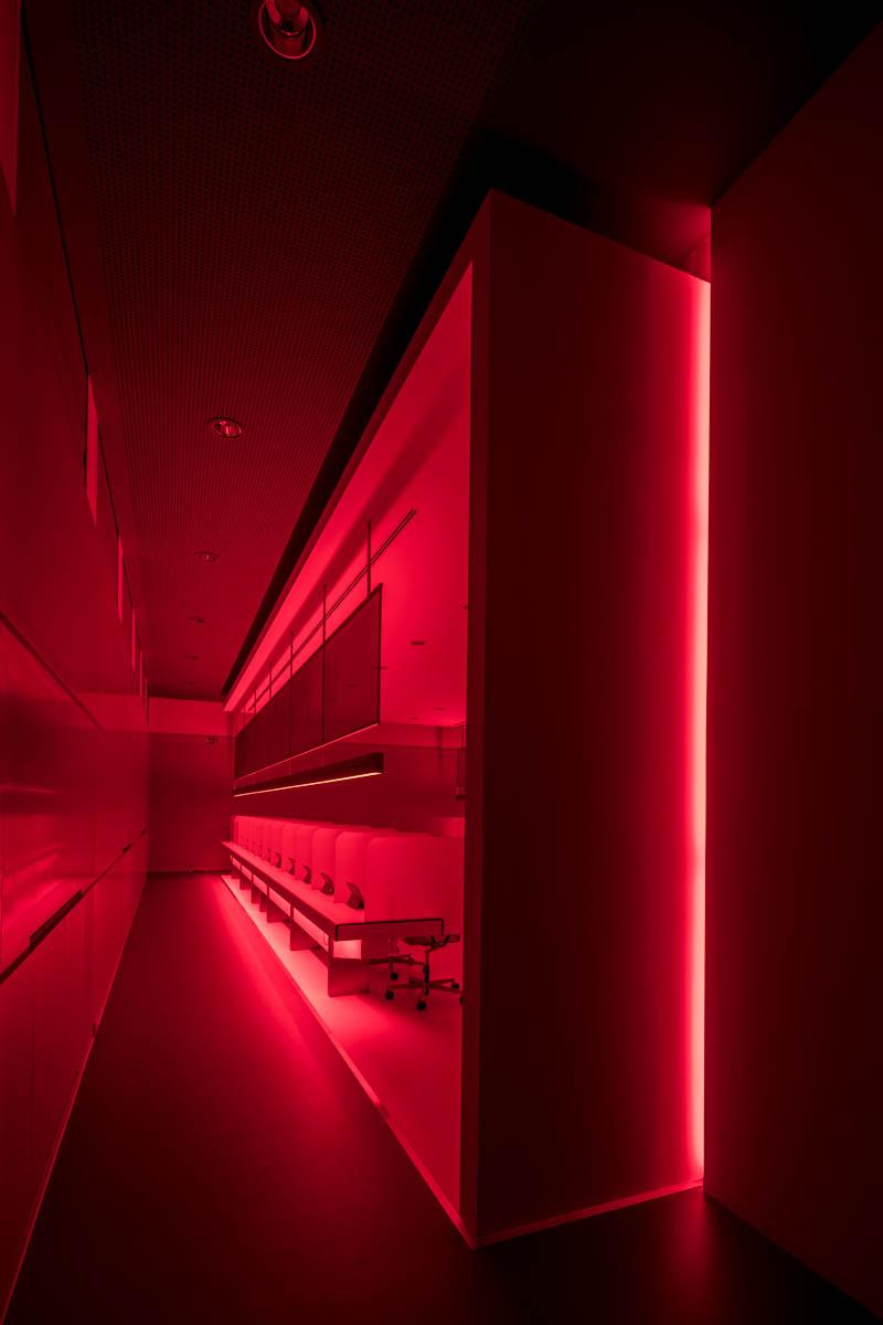 NOVA Architekten Sensorikzentrum LWG Prüfplätze Verkostung Licht Wein Veitshöchheim